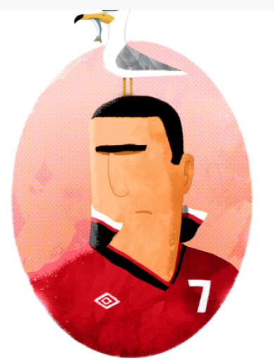 Meet the young Irish illustrator behind 'Cantona and Seagull' and other brilliant images