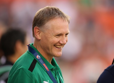 Schmidt has fun times ahead as Ireland coach.