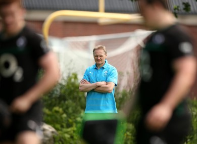 Clean slate: Ireland head coach Joe Schmidt.