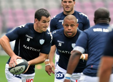 Jonathan Sexton won his third league game of the season with Racing Metro.