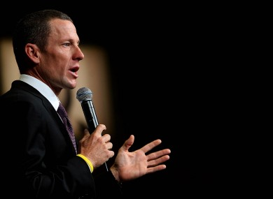 Lance Armstrong: returned medal to US officials.