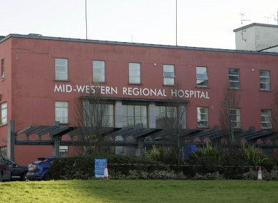 University Hospital Limerick, formerly known as the Mid-West Regional Hospital.