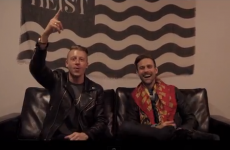 Macklemore and Ryan Lewis get the Coláiste Lurgan treatment