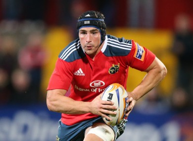 Munster are worried about O'Donnell's knee injury.