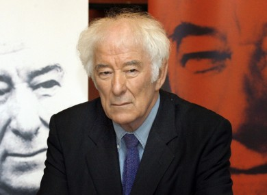 Irish bursary recipients include Seamus Heaney