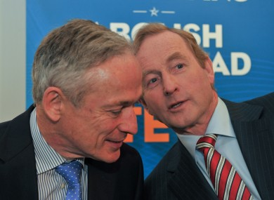 A busy day for Richard and Enda...