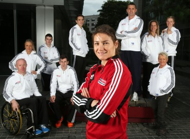 Katie Taylor is the ambassador for the Sky Sports Living for Sport initiative in Ireland.