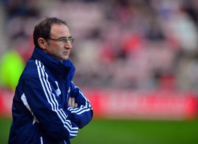 O'Neill: as short as 4/7 to be next Ireland manager.