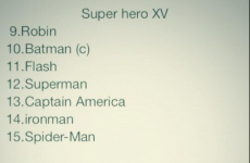 So, the Kearney brothers* have been busy coming up with a superhero XV
