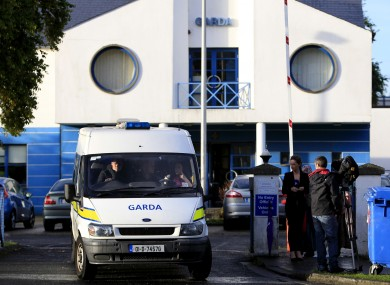A general view of Tallaght Garda station, Belgard Walk, Dublin where a blonde-haired, blue-eyed seven year-old girl was taken before she was put into care after being taken from a Roma family in Ireland.