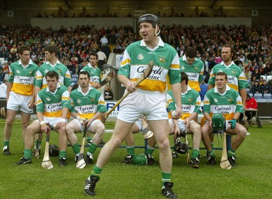 Whelahan: won two All-Irelands as a player.