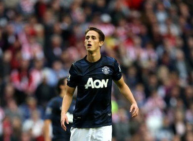 Adnan Januzaj, pictured during United's recent clash with Sunderland.