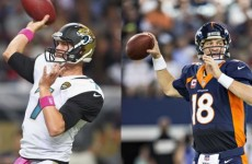Why the Broncos-Jaguars game has the largest point-spread in NFL history