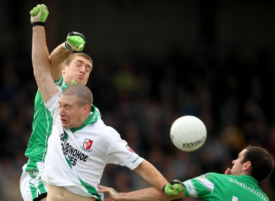 Sarsfields face Moorefield in the Kildare final on Sunday. (file photo)
