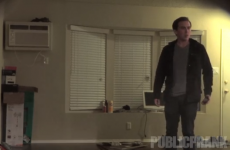 Guy terrifies his friend with fearsome Paranormal Activity prank