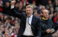 Moyes eyes low-key title challenge after late rally stuns Stoke