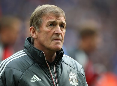 Dalglish has twice served as Liverpool's manager.