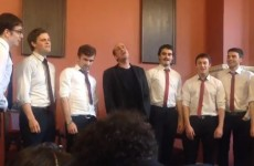 Ted from Scrubs performs Hey Ya and Help at Trinity College Dublin