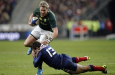 South Africa prove too strong for France