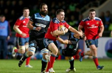 JJ Hanrahan serves notice he wants Heineken Cup role for Munster