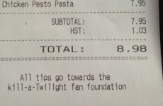 11 excellent hidden messages on restaurant receipts
