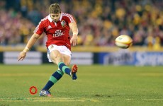 Halfpenny wins world player of the year award in France
