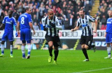 Newcastle's French connection strike to send Chelsea packing