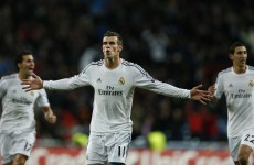 Gareth Bale hits brilliant free-kick as Real Madrid reach Champions League last 16