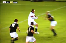 Retired hooker scorches in 80 metre try against Aussie legends