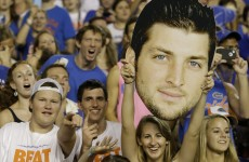 American stations are battling to make Tim Tebow the face of their college football coverage
