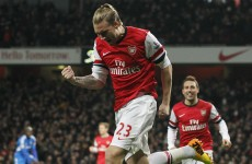Forgotten man Bendtner wants more action after ending goal drought