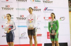 Ireland's Caroline Ryan wins bronze at Track Cycling World Cup