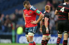 CJ Stander named at No. 8 in Munster 'A' team