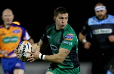 Young Irish star Ronaldson optimistic that Connacht can improve