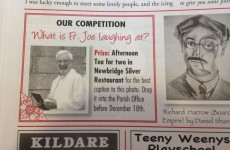 The best Irish parish newsletter competition you'll see today