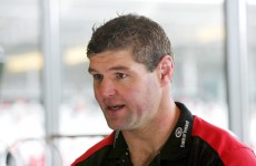 Ulster's Johann Muller explains the workings of the line-out